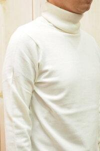 メンズjunhashimotoジュンハシモト109202000914GGTURTLEタートルネックニット[WHITE]正規通販トップス
