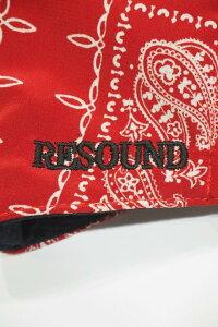 メンズRESOUNDCLOTHINGリサウンドクロージングRC-BASIC-MASKwestcoastbandanaMASKバンダナ柄マスク公式通販