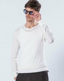 メンズ wjk 6848 kw82p washable V-neck knit ウォッシャブルVネックニット [10/white] 公式通販