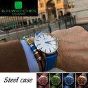 Steel case シリーズ B.H.WATCHES MILANO