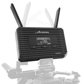 【Accsoon正規代理】CineEye 2-hdmiワイヤレス-HDMI無線-送信機 DFS付き 屋外使用可能 遅延0.06秒以内 1080P 60FPS 対応 ワイヤレスビデオ伝送システム 日本語説明書付き