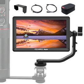 Feelworld カメラ用液晶モニター 5.5インチIPS 超薄 1920x1080 HDオンカメラビデオモニター 液晶フィールドモニター 4K HDMI信号入力 撮影確認用 Master MA6P 【正規代理店&日本語説明書&一年間保証】