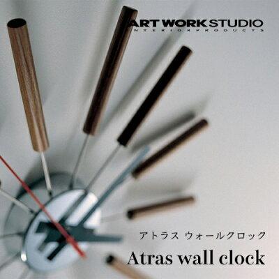 ARTWORKSTUDIO(アートワークスタジオ):Atraswallclock(アトラスウォールクロック)