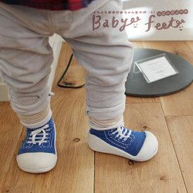 Baby feet(ベビーフィート):スニーカーズ(12.5cm)ファーストシューズ/トレーニングシューズ/出産祝い/誕生日祝い/赤ちゃん/プレゼント