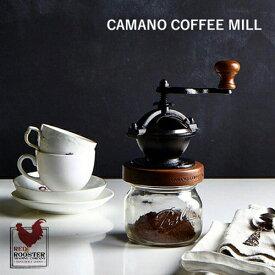 RED ROOSTER TRADING COMPANY:Camano Coffee Mill(カマノコーヒーミル)コーヒー/COFFEE LIFE/コーヒーを挽く/ハンドメイド/アメリカ製/Ball Mason Jar/ギフト/プレゼント