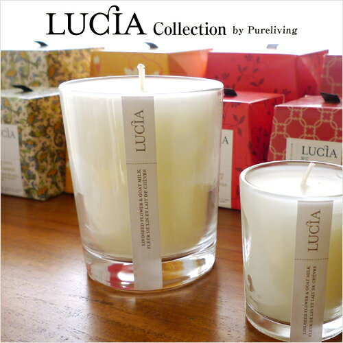 LUCIA Candles: Regular Size ( 7.0 Oz, Burning Time 50 Hours )