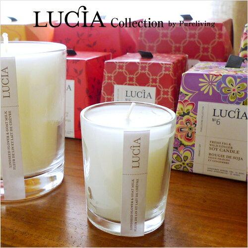 LUCIA Candles: Mini Size ( 2.5 Oz, Burning Time Approximately 20 Hours )