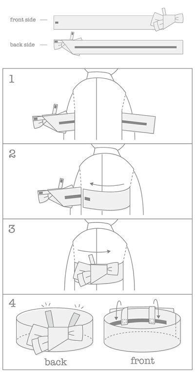 MARLMARL(マールマール):yukataの帯の使い方