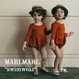 【全3色/2サイズ】MARLMARL マールマール:swimwear(水着:ワンピース型)[ラッピング.のし.メッセージ無料]スイムウェア/UVガード/ワンピース/出産祝い/誕生日祝い/ベビー/キッズ/男の子/女の子/専用ケース入り/ギフト/プレゼント/送料無料