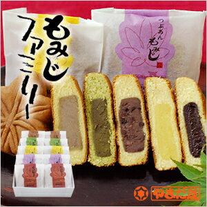 広島土産 やまだ屋のもみじ饅頭 もみじファミリー10個入