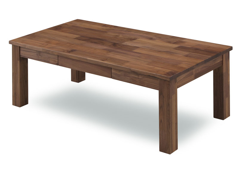 ウォールナット無垢材105センターテーブル 「Orz/オーズ」