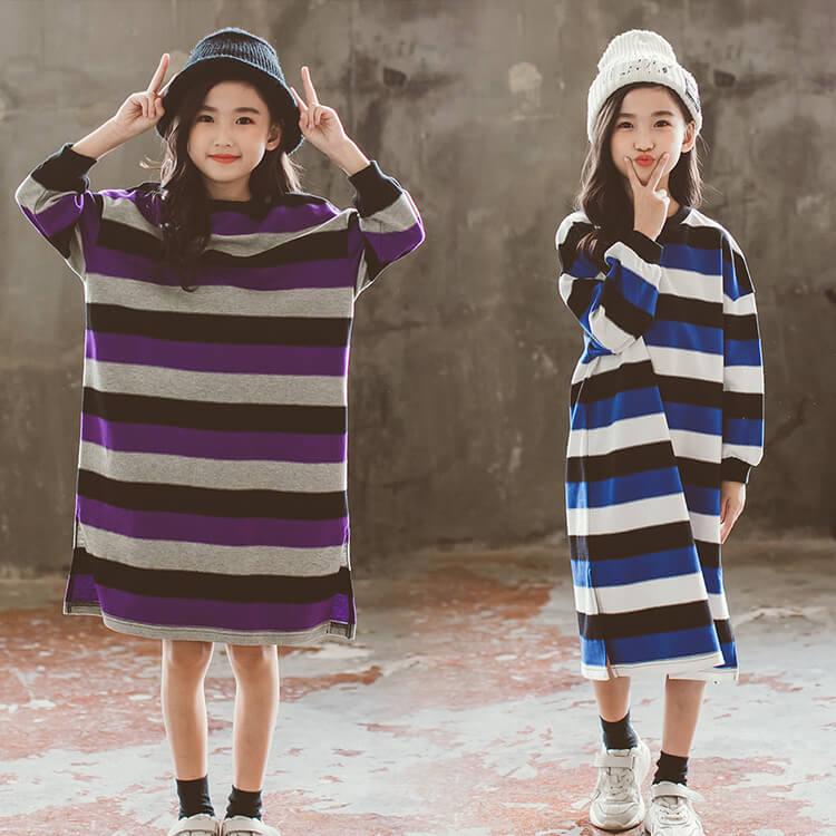 【メール便送料無料】無地ベーシックAライン キッズ ワンピース 女の子 ワンピース 衣装 子供服 韓国子供服 キッズ ジュニア 子供 こども 子ども ダンス