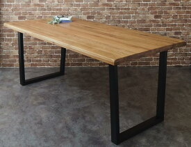 オーク 無垢材 天然木 ヴィンテージ デザイン ワイドサイズ 大きなテーブル パーティー ダイニング Coups クプス ダイニングテーブル W180