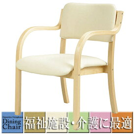 肘付ダイニングチェア 福祉 介護 椅子 施設 デイサービス DC-530P お年寄り 肘掛け 介護イス 介護椅子 介護用椅子 介護 椅子 肘付 食堂 椅子 イス チェア 通い所 いす シルバー 業務用