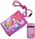 子供用財布 27143-46(43/アリエル) キャラクター W12.5×H9×D1.5cm ウォレット Disney minions 財布