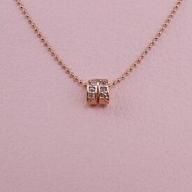 【ジュエリー・アクセサリー】【メール便送料無料】【レディース ネックレス】大人の女性に シンプル mini ネックレス ピンクゴールドネックレス プチネックレス