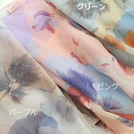 【レディース】【ストール】【スカーフ】【メール便送料無料】ストール  花柄 シンプルストール