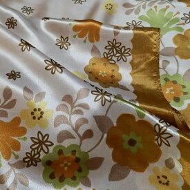 【レディース】【スカーフ】【メール便送料無料】スカーフ 花柄 フラワー ベージュ  訳あり商品 大特価