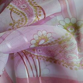 スカーフ メール便送料無料 スカーフ柄 シフォンスカーフ ピンク 大人可愛い 花柄 フラワー 訳あり商品 大特価 薄手 春夏
