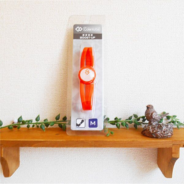 Colantotte磁気健康ギアコラントッテ BOOST-UP (オレンジ)【Colantotte、コラントッテ、ColantotteBOOSTUP、コラントッテブーストアップ、ブーストアップ、BOOSTUP、BOOST-UP、コラントッテブレスレット、磁気ブレスレット】