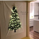 クリスマスツリー タペストリー 100×150cm
