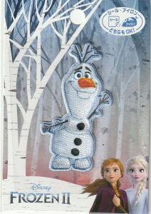 ディズニー ワッペン FROZENII アナと雪の女王2 シールアイロン接着 MY5002-MY447 プリンセス キャラクター 保育園 幼稚園 アップリケ ハンドメイド かわいい おしゃれ大人 子供 こども 女の子