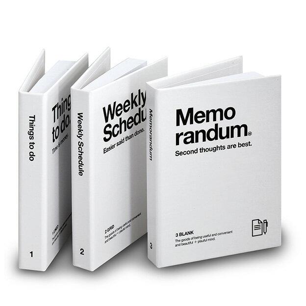 《ネコポスOK ※1セットまで》ミニブック付箋3冊セット