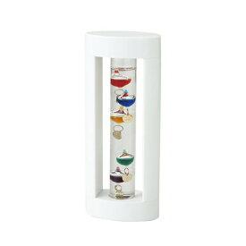 『Fun Science(ファン・サイエンス) ガラスフロート温度計S(ホワイト) 333-205 (346シリーズ)』『直送品。代引不可・同梱不可・返品キャンセル・割引不可』飾る おしゃれ スタイリッシュ デザイン インテリア アイテム