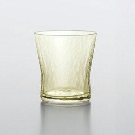 【直送品】琥珀 こはく レトロ琥珀色ウィスキーグラス 焼酎 タンブラー 10575DGY 97×97×106 φ90×H97 M90 330ml 350シリーズ