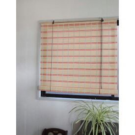 【メーカー直送・大感謝価格】カラー竹スクリーン RC-1485 W88×H180cm ナチュラル