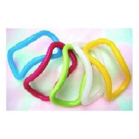 【大感謝価格 】ウェーブストレッチリングプラスチック製 ピンク/グリーン/ブルー/イエロー/ホワイト