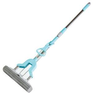 【直送品】SV-6582 伸縮式スーパーVモップ床掃除 吸水 水洗い ワックス掛け