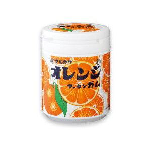 【直送品】【48個セット】オレンジマーブルガム ボトル 130gx48個セット 【返品キャンセル不可品】 食品 スイーツ マーブルガム オレンジ味