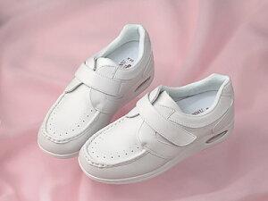 大感謝価格『マリープレア No.3810E ホワイト』ナースシューズ 2WAY ウィズシステム 院内 施設用 介護 シューズ 靴『マリープレア No.3810E ホワイト』