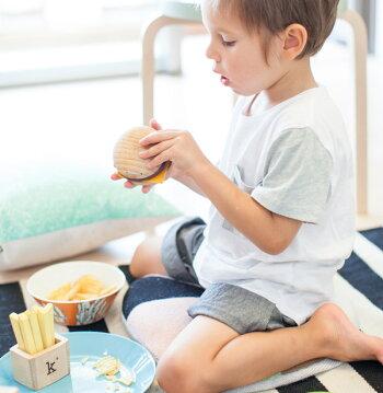 kiko+(キコ)hamburgerset(ハンバーガーセット)おもちゃの楽器kiko