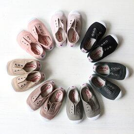 【即納】Cienta/ シエンタ 靴 デッキシューズ model.70(キッズ ベビー)キャンバス スニーカー 21〜30サイズ(12.5〜18.5cm)豊富なカラーが揃った人気の子供靴(スニーカー 子ども靴 カジュアル靴 )