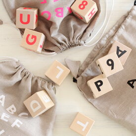 ooh noo(オーノー) Alphabet blocks、Math blocks アルファベットブロック 数字絵文字oohnoo 雑貨 オブジェ 黒白インスタ寝相アートに活躍のインテリア 英語