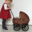 【送料無料】doll pram ヨーロッパのアンティーク風手押し車 | ドールプラム 赤ちゃん toy pram クリスマス 誕生日 3歳 誕生日祝い 三歳 男 女 出産祝い ギフト 男の子 女の子 クリスマスプレゼント ベビー 幼児 インテリア おしゃれ 北欧