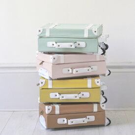 【送料無料】Olli Ella(オリエラ)See-Ya Suitcase キッズキャリーバッグ MINT、ROSE、MUSTARD、RUST【キッズ 子供 ままごと】【インテリア 収納】【スーツケース】