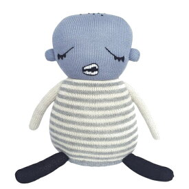 【送料無料】LUCKYBOYSUNDAY/ラッキーボーイサンデー Baby Boy 上質なベビーアルパカ100%のデンマークの編みぐるみ。出産祝いやギフトなどの贈り物として人気♪【インテリア 雑貨】【北欧 あみぐるみ 人形 ぬいぐるみ クッション】