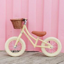 【日本総代理店の正規品】BANWOOD(バンウッド) バランスバイク FIRST GO クリーミーカラー全3色 | キッズバイク ペダル無し自転車 2歳 お誕生日 子供用バイク トレーニングバイク 玩具 おもちゃ 男の子 女の子 誕生日プレゼント