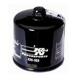 K&N(ケーアンドエヌ)オイルフィルターKN-153 ブラック DUCATI