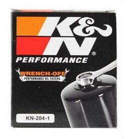 K&N KN-204-1 Oil Filterケーアンドエヌオイルフィルター