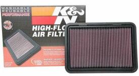 K&N 33-3130 純正交換 エアフィルター 高性能洗える 交換フィルター 2017-2020 SUZUKI (スイフトV 1.4L)