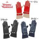 【全品送料無料】ヴィヴィアン ウェストウッド Vivienne Westwood☆手袋 ファッション ORB オーブ ORBエンボス 手袋 …