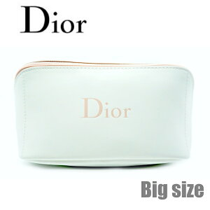 ディオール ビューティー Dior Beauty ☆ポーチ 小物入れ かわいい 化粧ポーチ ロゴ 桃 ピンク 白 ホワイト ロゴ さらさら スクエア 大容量 大きめ トラベル 立体的 化粧 メイク コスメ ブランド