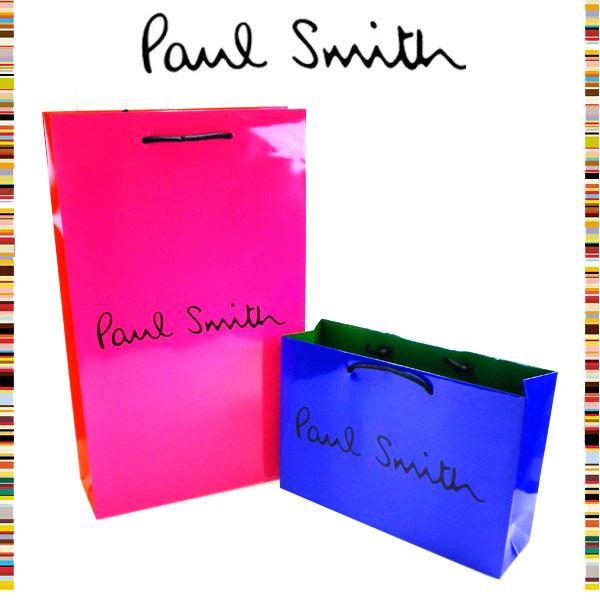 ポールスミス Paul Smith☆1円 ショッピングバッグ 紙袋 ショッパー メンズ レディース ブランド クリスマス ハロウィン バレンタイン