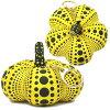 Yayoi Kusama Yayoi Kusama Pumpkin ( pumpkin ) polka dots pumpkin pumpkin Keyring with mascot presence very special BOX with gift Christmas gifts ideal for gifts