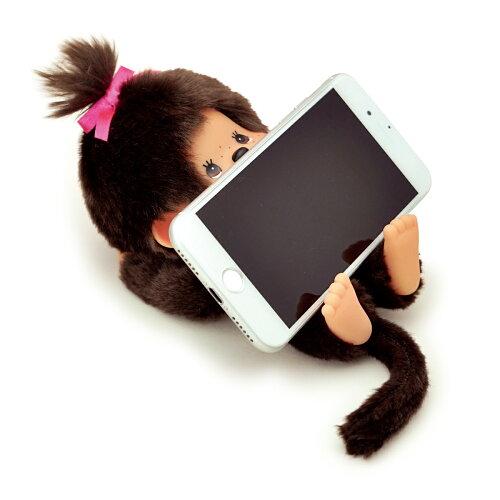 【送料無料!!】≪モンチッチのメーカー直販で安心♪もんちっち/Monchhichi/可愛い/かわいい/女性/女子/誕生日/プレゼントギフト/スマホスタンド/携帯スタンド/スマホホルダー/スマホやメガネを置いて机の上を整理!≫モンチッチスマートホルダー女の子
