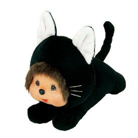 ねそべりモンチッチ クロネコ Sもんちっち グッズ 黒猫 くろねこ ぬいぐるみ ハイハイ かわいい プレゼント